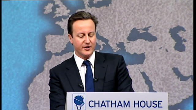 david cameron speech on national security at chatham house; - and, as pauline and sayeeda warsi have argued so powerfully throughout the past few... - banking sign stock videos & royalty-free footage