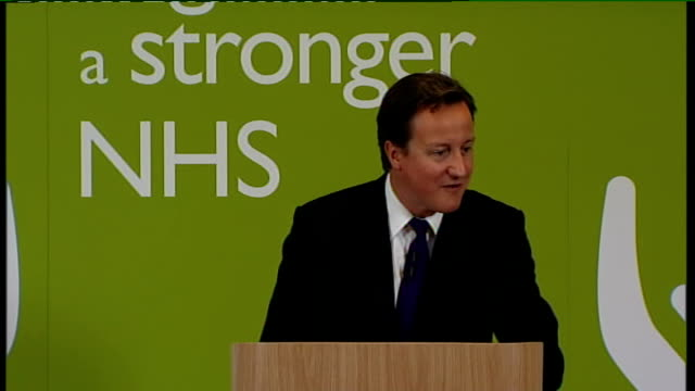 David Cameron speech on NHS reforms Cameron interview SOT no change is not an option But we have to make sure it is the right change delivered in the...