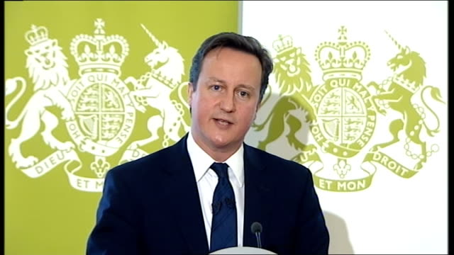 david cameron speech on public service reform; david cameron question and answer - q&a - session sot - on being called 'heir to blair' and tony... - autobiography stock videos & royalty-free footage