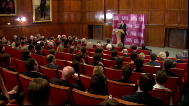 david cameron speech on punishment and rehabilitation of offenders int david cameron press conference sot clearly it's become apparent that he's not... - recovery stock videos & royalty-free footage