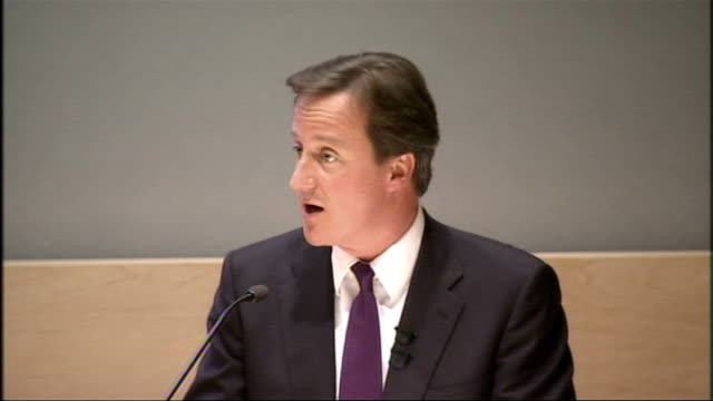david cameron speech on reforming quangos david cameron speech continues sot applying this approach ministerial responsibility for policy outcomes... - financial item stock videos & royalty-free footage
