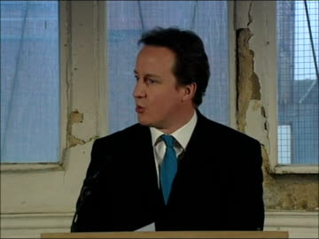 david cameron speech on social cohesion; england: west midlands: birmingham: handsworth: int david cameron mp speech sot - it's an honour to be here... - handsworth stock videos & royalty-free footage