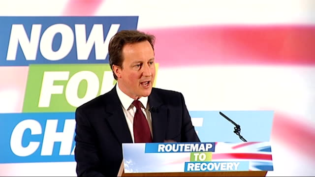 david cameron speech on the economy; david cameron speech on the economy continued sot if we take the keys to the treasury after the next election we... - social history stock videos & royalty-free footage