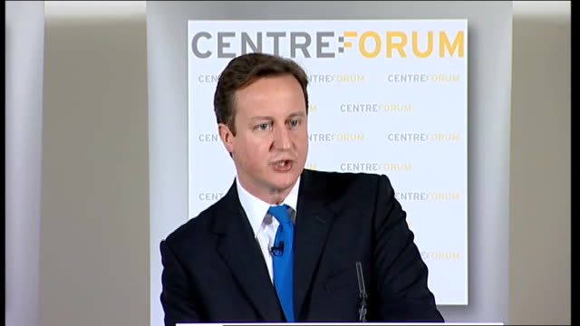 david cameron speech on the future of higher education funding; david cameron speech sot - but here's the biggest reason we can't just stick with how... - doing a favour stock videos & royalty-free footage