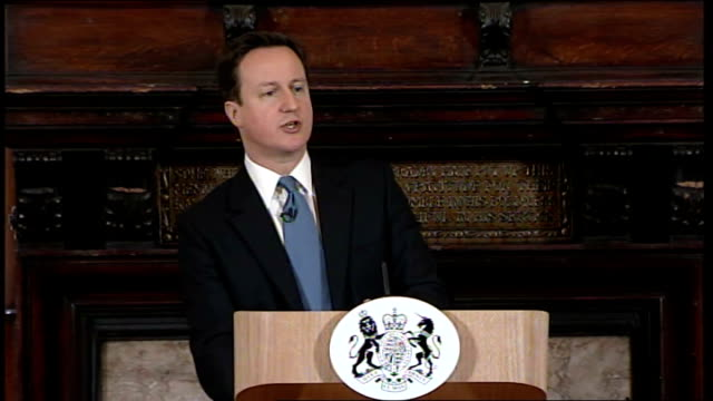 david cameron speech on welfare reform bill cameron speech sot yes some elements of this bill have been amended and rationalised that's what happens... - social history stock videos & royalty-free footage