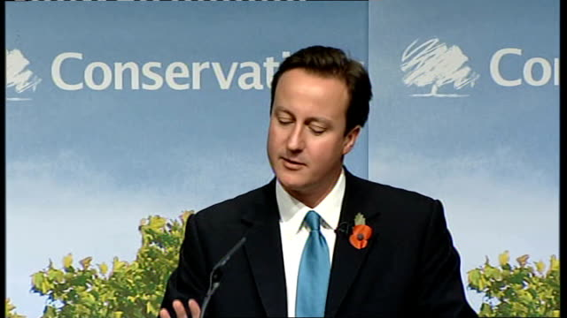 david cameron speech to candidates in his witney constituency england oxfordshire witney int david cameron mp on to stage as audience applaud / david... - new age stock videos & royalty-free footage