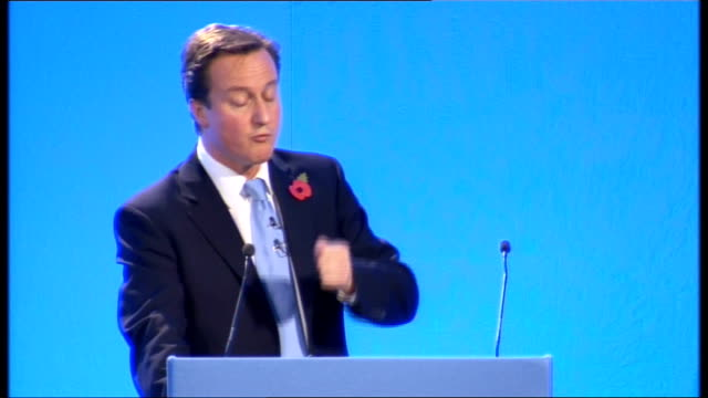 david cameron speech to conservative women's organisation; cameron speech sot - it's a personal tragedy, an economic waste and a source of social... - all around competition stock videos & royalty-free footage