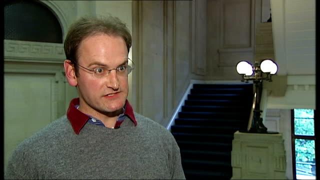 david cameron 'true heir' to tony blair london int douglas carswell mp interview sot - ファイサル・イスラム点の映像素材/bロール