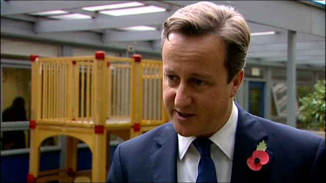 David Cameron visits adoption centre ** To be shotlisted in full ** London Archway David Cameron SOT re ADOPTION We want to act to help some of those...