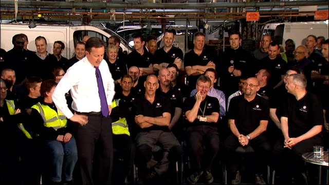 David Cameron visits General Motors factory David Cameron Q A session SOT re superinjunctions What really matters is there is press freedom and they...