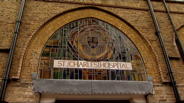 david cameron visits gp surgery in kensington england london kensington st charles' centre for health and wellbeing int general view of st charles'... - patient journey stock videos & royalty-free footage