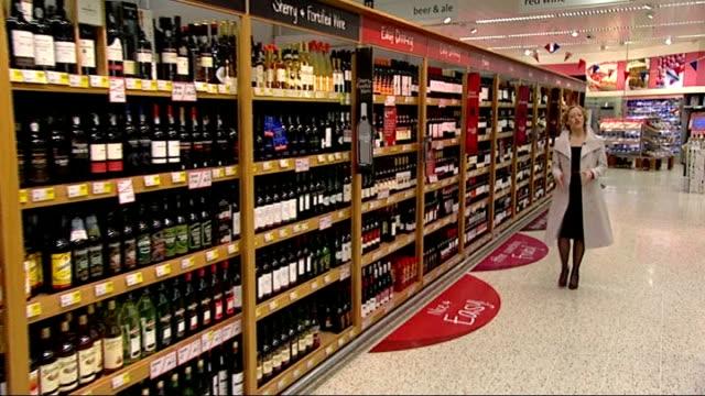 vídeos de stock, filmes e b-roll de david cameron warned alcohol policy could be illegal; england: leeds: reporter to camera - cathy newman