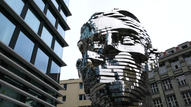K, David Cerny Sculpture in Prague City