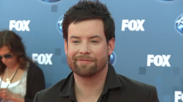 david cook at the fox's 'american idol 2011' finale results show at los angeles ca - results show stock videos & royalty-free footage