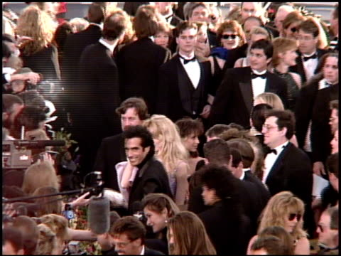 david copperfield at the 1995 academy awards arrivals at the shrine auditorium in los angeles, california on march 27, 1995. - 67th annual academy awards stock videos & royalty-free footage