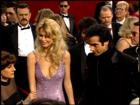 David Copperfield at the 1995 Academy Awards Arrivals at the Shrine Auditorium in Los Angeles California on March 27 1995