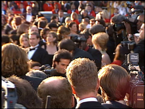 vídeos de stock, filmes e b-roll de david copperfield at the 1996 academy awards arrivals at the shrine auditorium in los angeles california on march 25 1996 - 1996
