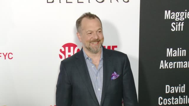 """david costabile at the for your consideration screening and panel for showtime's """"billions"""" - red carpet at the wga theater on april 26, 2016 in... - showtime video stock e b–roll"""