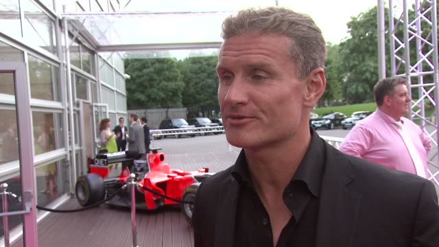 David Coulthard on the event The British Grans Prix at The F1 Party in aid of Great Ormond Street Hospital Children's Charity at Battersea Evolution...