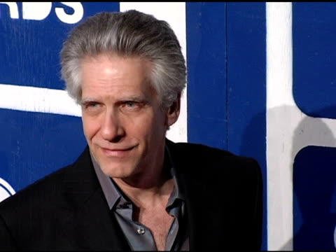 david cronenberg at the ifp's 15th annual gotham awards arrivals at pier 60 at chelsea piers in new york, new york on november 30, 2005. - independent feature project video stock e b–roll