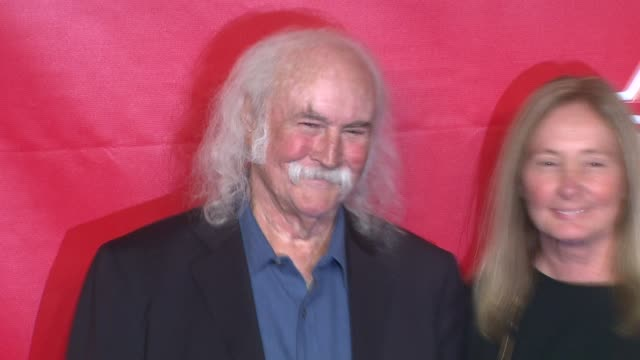 david crosby and jan dance at 2014 musicares person of the year honoring carole king at los angeles convention center on in los angeles california - musicares foundation stock videos & royalty-free footage
