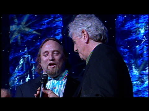 David Crosby Stephen Stills and Graham Nash accept their icon awards at the 2006 BMI Pop Awards at the Regent Beverly Wilshire Hotel in Beverly Hills...