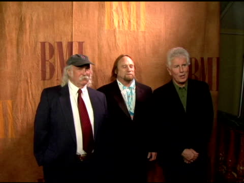 David Crosby Stephen Stills and Graham Nash at the 2006 BMI Pop Awards at the Regent Beverly Wilshire Hotel in Beverly Hills California on May 16 2006