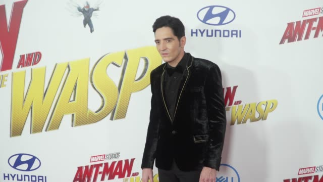 David Dastmalchian at the 'AntMan and the Wasp' World Premiere at the El Capitan Theatre on June 25 2018 in Hollywood California
