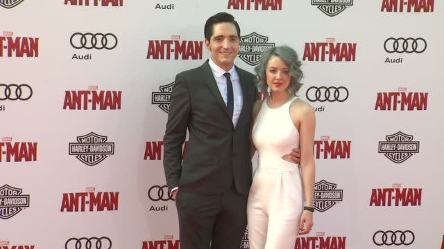 """david dastmalchian at the world premiere of marvel's """"ant-man"""" at dolby theatre on june 29, 2015 in hollywood, california. - the dolby theatre stock videos & royalty-free footage"""
