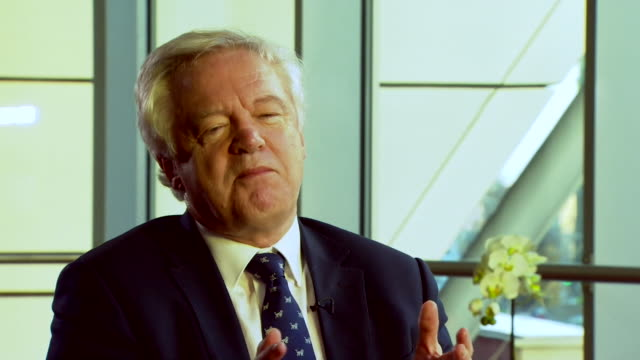 david davis describing the brexit negotiations as the most important negotiations and transition during peacetime and admits it will be difficult - peacetime stock videos & royalty-free footage