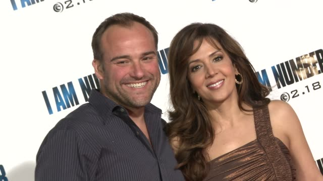 David DeLuise Maria CanalsBarrera at the 'I Am Number Four' Premiere at Westwood CA