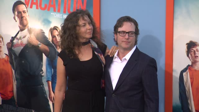 david dobkin at the vacation los angeles premiere at regency village theatre on july 27 2015 in westwood california - regency village theater stock videos and b-roll footage