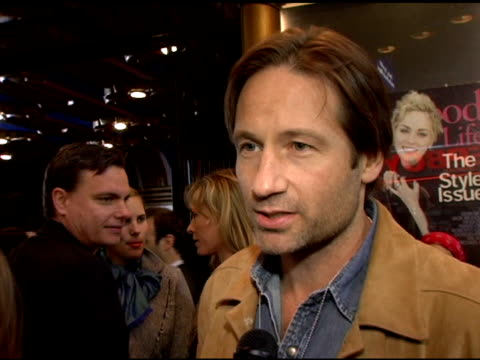 david duchovny on why anton yelchin is a breakthrough actor and on terrence howard as his favorite performance this year at the hollywood life... - terrence howard stock videos and b-roll footage