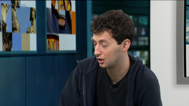 David Eldar crowned as Scrabble world champion ENGLAND London INT David Eldar LIVE STUDIO interview SOT