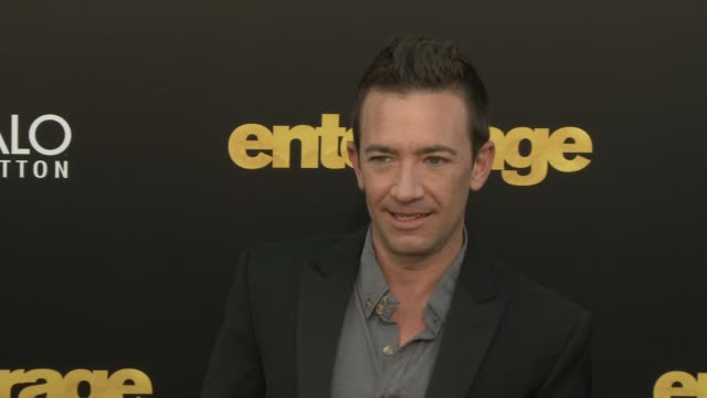 David Faustino at Entourage Los Angeles Premiere at Regency Village Theatre on June 01 2015 in Westwood California