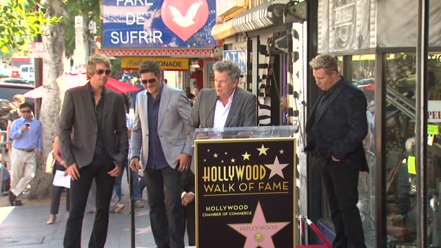 david foster on the sound of rascal flatts and on their years of hard work at rascal flatts honored with star on the hollywood walk of fame on... - rascal flatts stock videos & royalty-free footage