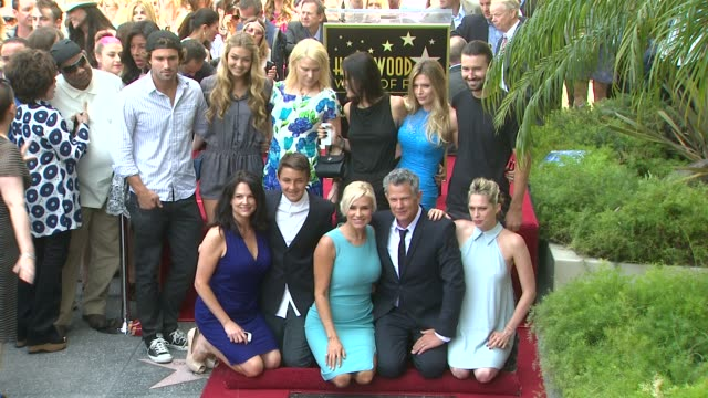 David Foster Yolanda Hadid and Brody Jenner at David Foster Honored With Star On The Hollywood Walk Of Fame David Foster Yolanda Hadid and Brody...