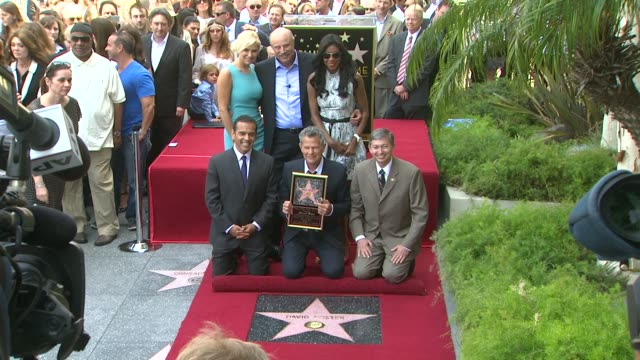 David Foster Yolanda Hadid Phil McGraw and Natalie Cole at David Foster Honored With Star On The Hollywood Walk Of Fame David Foster Yolanda Hadid...