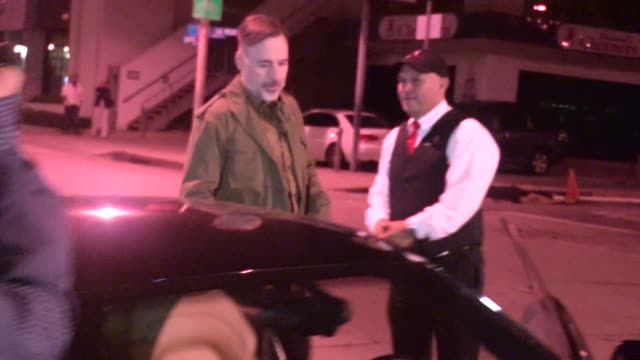 David Furnish departing Craig's in West Hollywood Celebrity Sightings in Los Angeles on May 27 2015 in Los Angeles California