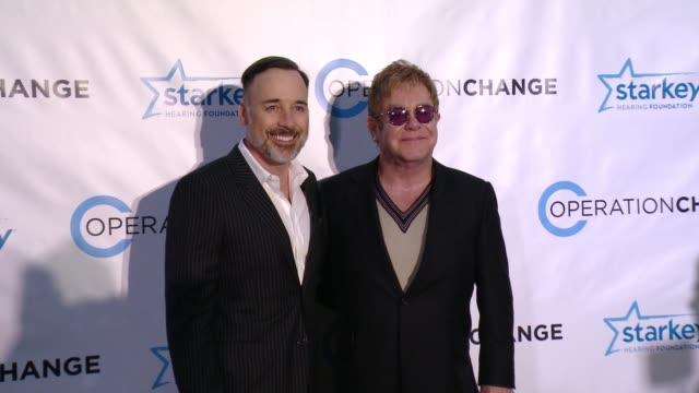 David Furnish Elton John at Operation Change For Your Consideration Reception and Screening with Elton John in Los Angeles CA