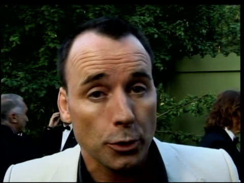 David Furnish on supporting amfAR on the fight against AIDS being a massive fight even now at the amfAR's Cinema Against AIDS in Cannes on May 25 2006