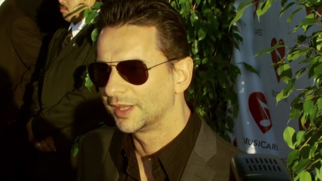 david gahan at the 3rd annual musicares map fund benefit concert at music box theater in hollywood california on may 11 2007 - benefit concert stock videos and b-roll footage