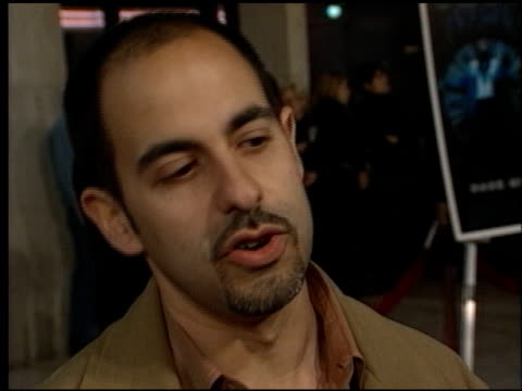 david goyer at the 'dark city' premiere at cineplex odeon century plaza in century city california on february 25 1998 - odeon kinos stock-videos und b-roll-filmmaterial