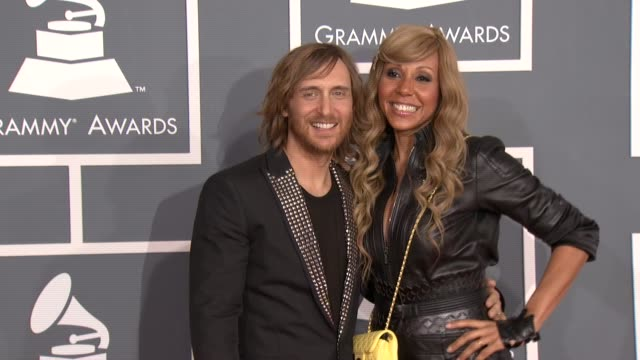 David Guetta Cathy Guetta at 54th Annual GRAMMY Awards Arrivals on 2/12/12 in Los Angeles CA