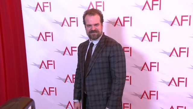 David Harbour at 17th Annual AFI Awards at Four Seasons Hotel Los Angeles at Beverly Hills on January 06 2017 in Los Angeles California