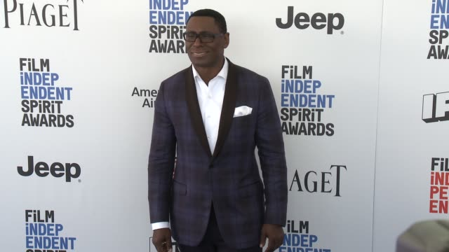 David Harewood at the 2017 Film Independent Spirit Awards Arrivals on February 25 2017 in Santa Monica California