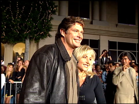 david hasselhoff at the planet hollywood entrances on september 17, 1995. - david hasselhoff stock videos & royalty-free footage