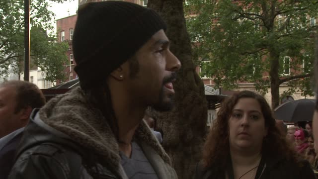 european premiere at leicester square on july 18 2012 in london england - david haye stock videos and b-roll footage