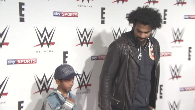 David Haye at WWE RAW Pre Show Party on April 18 2016 in London England