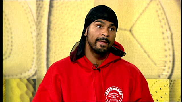 david haye interview; haye interview sot - it would be the biggest fight since lennox lewis vs mike tyson /compares eastern european boxers to... - biggest stock videos & royalty-free footage